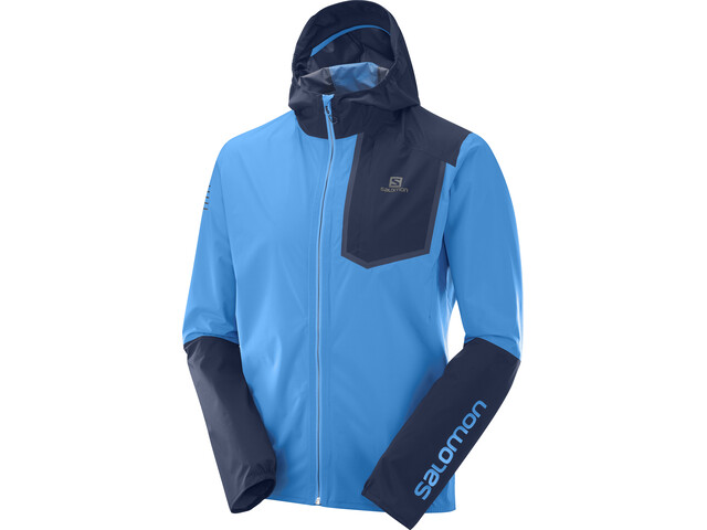 Salomon Bonatti Pro WP Jacket Herr blithe/night sky